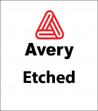 Avery© Etched Vinyl