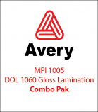Avery© MPI 1005 Media & DOL® 1060 Gloss Lam Combo Pak