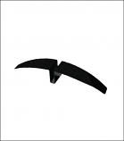 Black Hawk Sign Holder