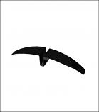 Black Hawk Sign Holder