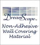 DreamScape™ Non-Adhesive Wallcovering Material