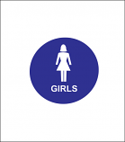 "12"" Girls Sign"