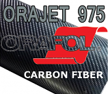 Oracal / Orajet / Orafol® 975 Carbon Fiber Cast (By the Yard)