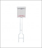 Deluxe Brochure Holder with Stake