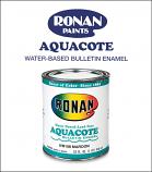 Ronan Aquacote Bulletin Enamel Paint