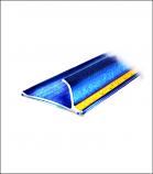 The Bada-Bing-Blue Safety Ruler
