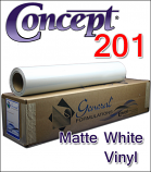 Concept® 201 Matte White Vinyl