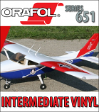 Orafol / Oracal® Series 651 Intermediate Vinyl