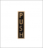 """Push"" Door Sticker"