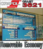 Orafol / Oracal Orajet® 3621 Economy Film