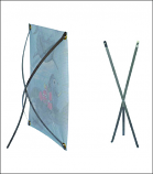 Stainless Steel Banner Stand